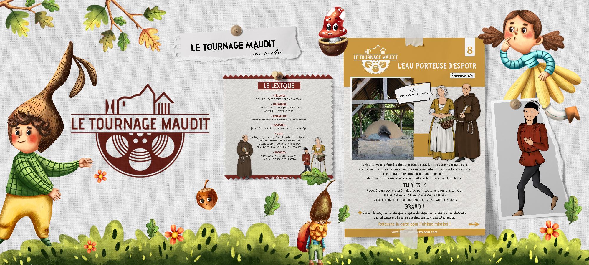 TOURNAGE MAUDIT © Château de Crevecoeur
