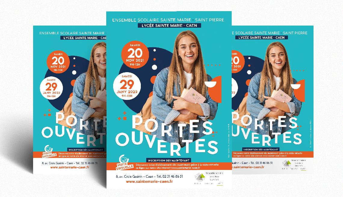 Sainte Marie Caen © Agence trois Petits Points Communication